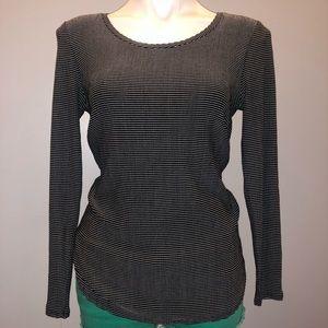 Lauren Conrad Dark Gray Tunic Size: XS NWT